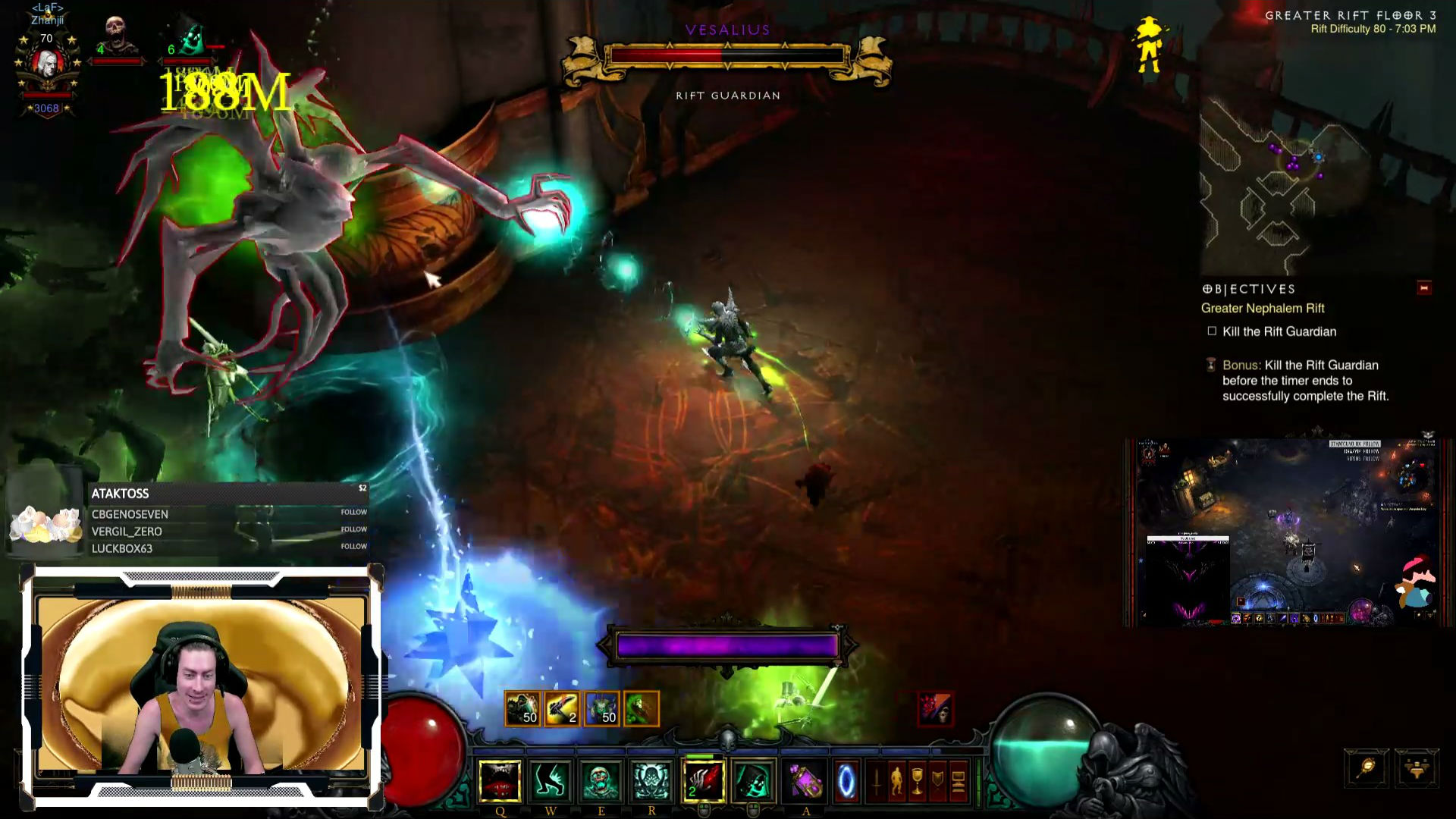 Diablo 3 Patch 2.6.0: Vesalius – Optik und Skills vom neuen Rift-Guardian