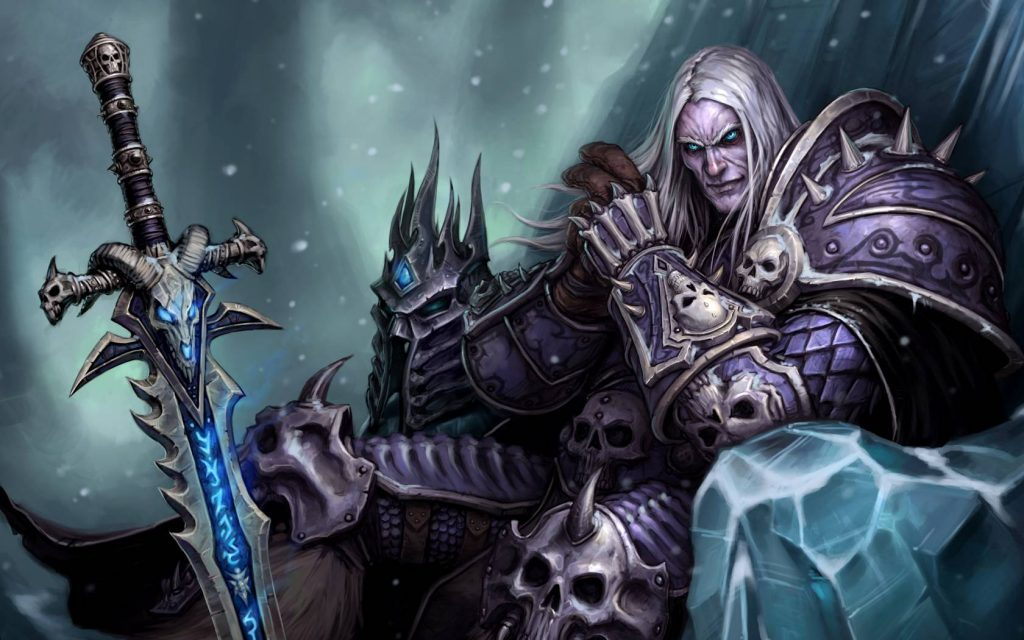 WoW Arthas Menethil Artwork Lichking