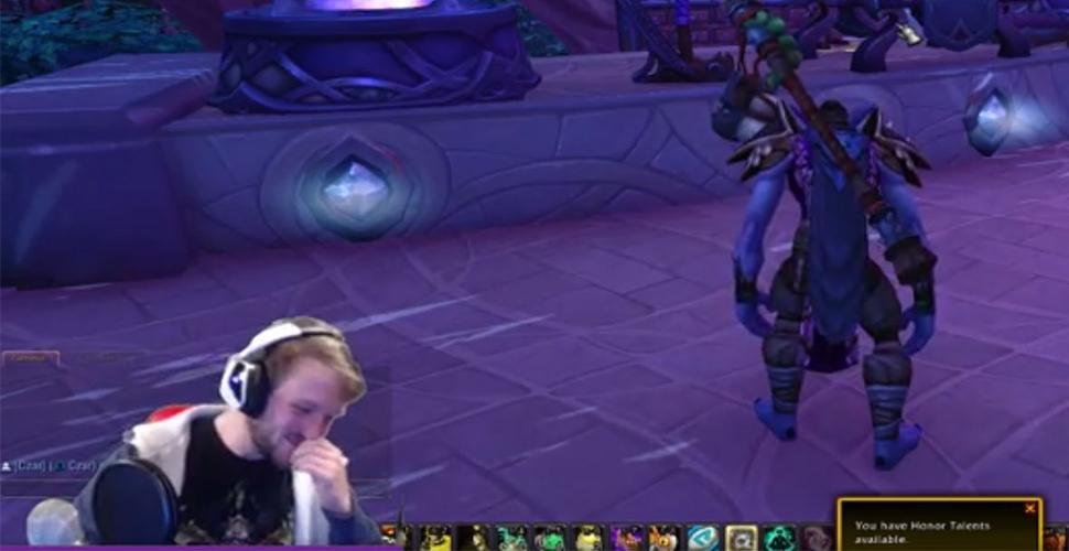 WoW: Streamer findet sich selbst und seine Tanzmatte im Spiel