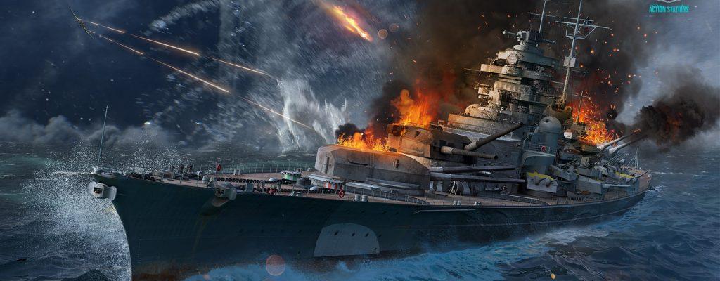 World of Warships: Versenkt die Bismarck in historischer Kampagne