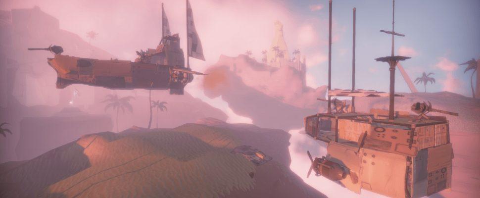 Worlds Adrift ist jetzt auf Steam: MMO mit Wundertechnik SpatialOS
