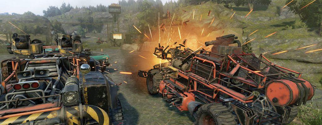 Crossout: Open Beta Release – Mix aus Mad Max und World of Tanks zum Download auf PC, PS4 Xbox One