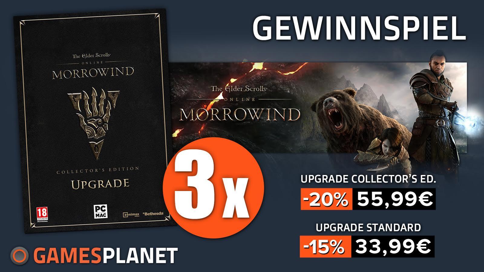 ESO Morrowind – Gewinnt Upgrades auf Collector's Edition und Early-Access