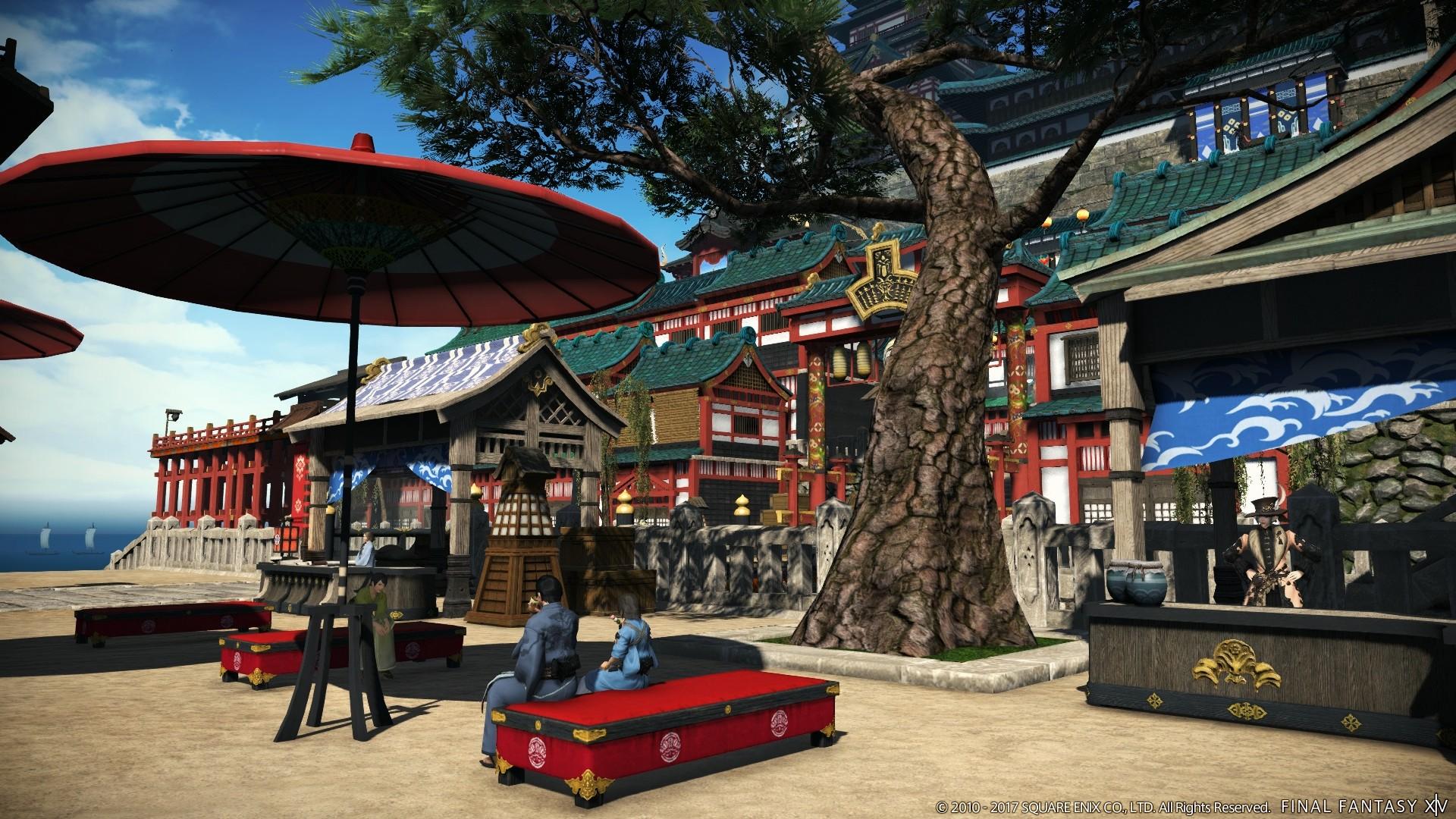 Final Fantasy XIV Stormblood: Trailer zeigt blühende Landschaften