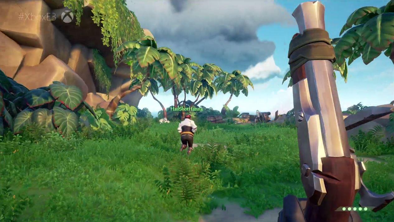 Sea of Thieves: Release Anfang 2018, Gameplay mit Schätzen und Skeletten