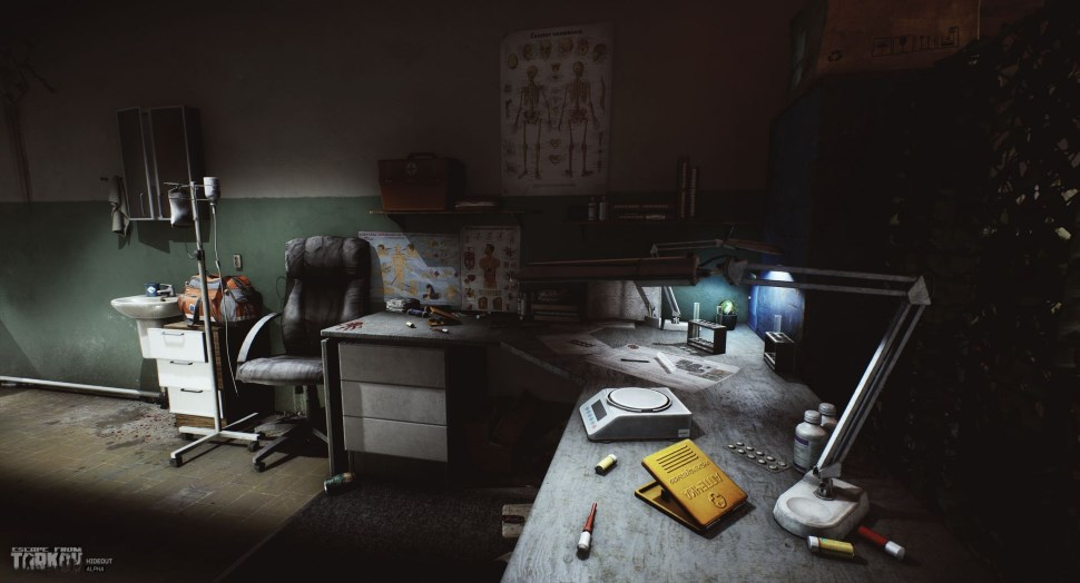Escape from Tarkov: Hardcore-Shooter mit Rückzugsort – Housing-System