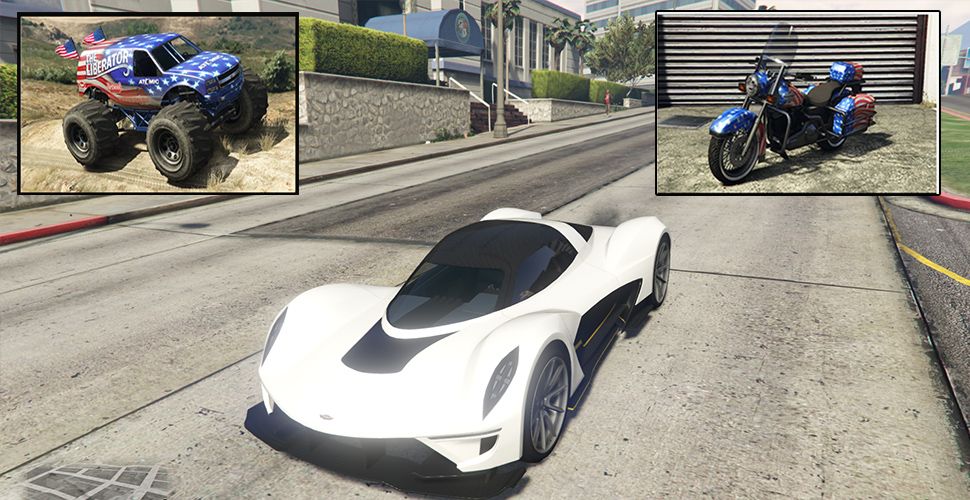 GTA 5 Online Independence Day: DLC jetzt live – Vagner Sportwagen im Shop