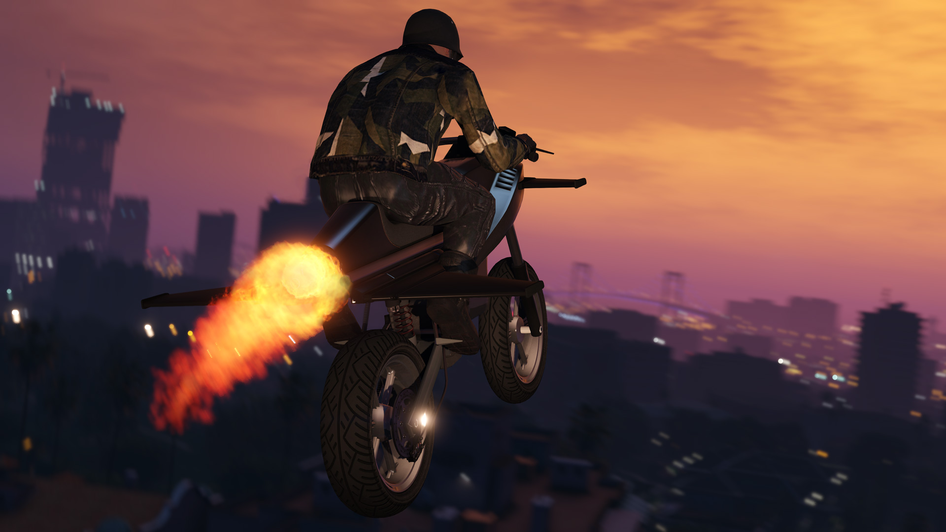 GTA 5 Online Update: DLC Gunrunning bringt Raketen-Motorräder