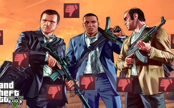 GTA 5 Thumbs Down