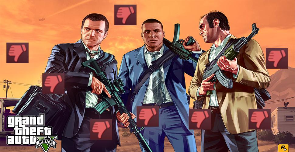 GTA 5: Haufenweise Negativ-Bewertungen wegen Verbot von Mods