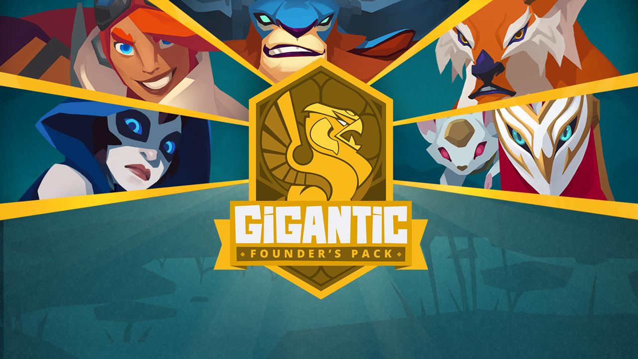 Gigantic Gewinnspiel: Founder-Packs mit allen Helden zu gewinnen