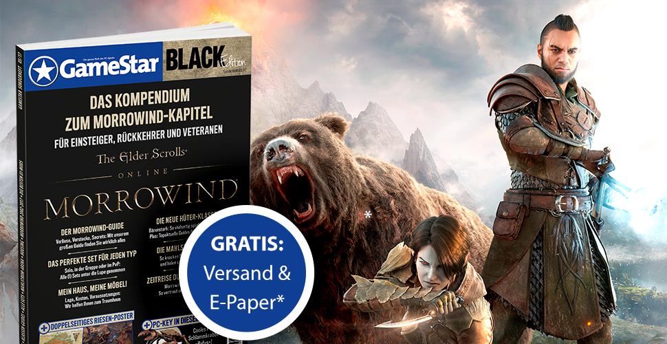 ESO – Morrowind: GameStar-Sonderheft – Gratis-E-Paper nur noch heute
