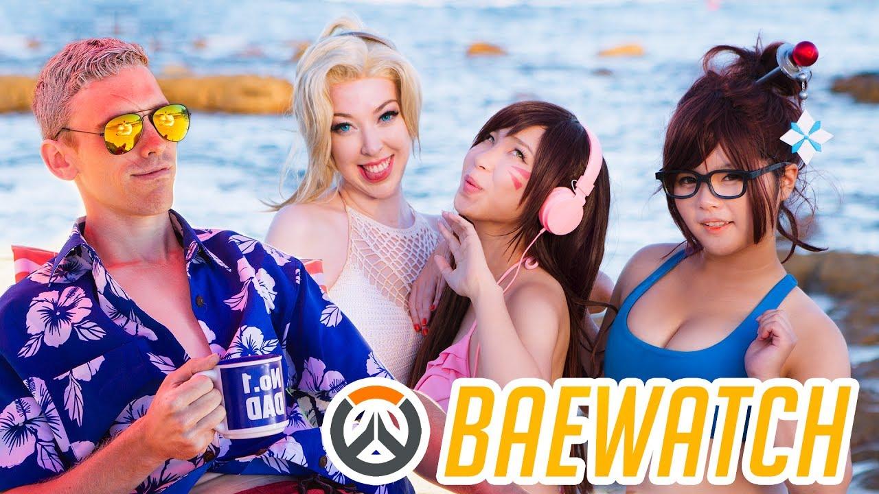 """Overwatch: Mit den Helden am Strand entspannen – """"Baewatch"""""""