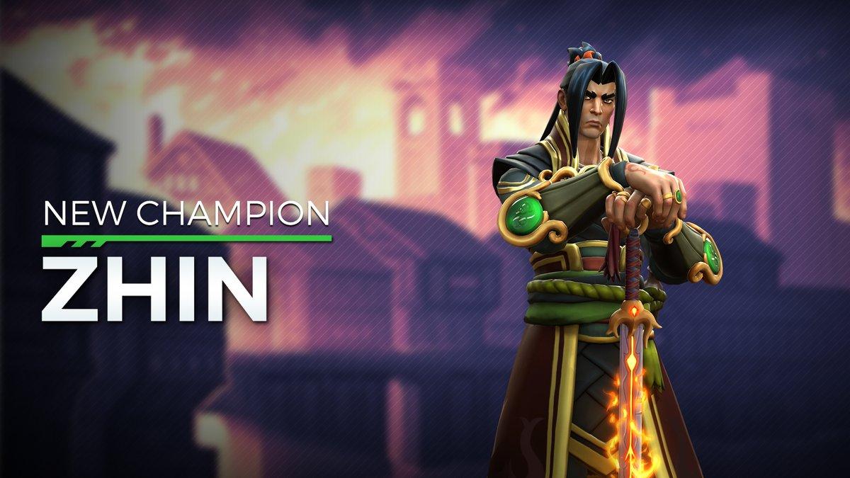 Paladins OB52: Zhin – Tyrann mit Flammenschwert – Skills & Karten