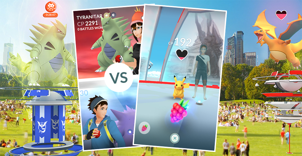 Pokémon GO Arena Guide Titel