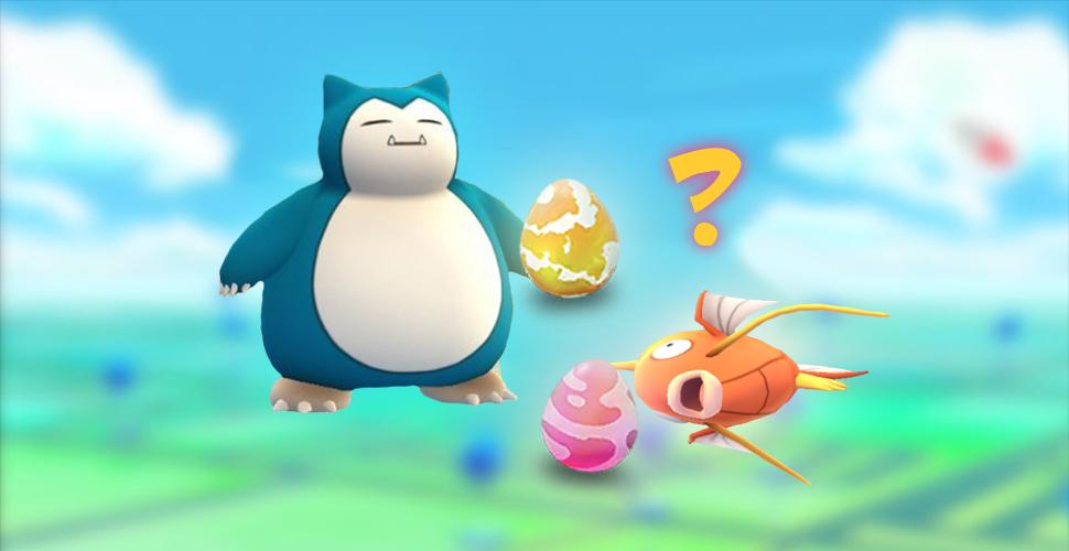 Pokémon GO Raid-Eier: Diese Pokémon gibt es in pinken und gelben Eiern