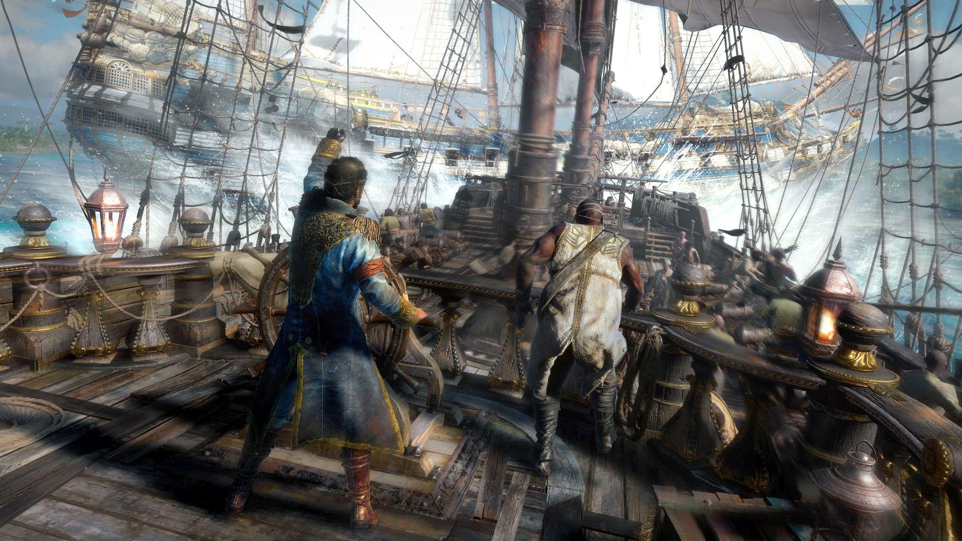 Skulls & Bones: Am Steuer festgewachsen – Ihr spielt Schiffe