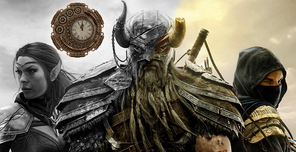 The Elder Scrolls Online 2014- 2017: Die Geschichte bis Morrowind