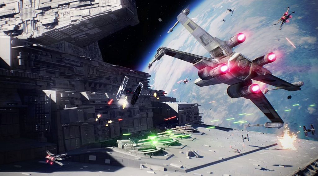 Battlefront 2 Flieger