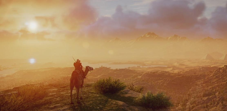 Assassin's Creed Origins: Neuer Trailer zeigt die Schönheit der Open-World