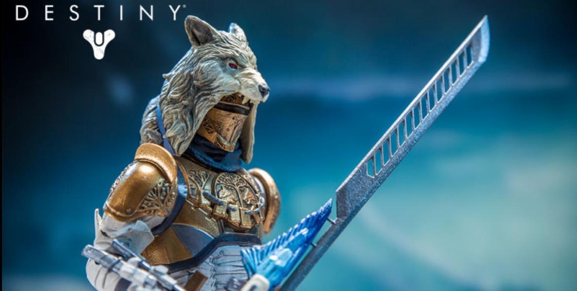 Destiny Toys: Jäger mit Schwert, Titan mit Gjallarhorn – Coole Action-Figuren