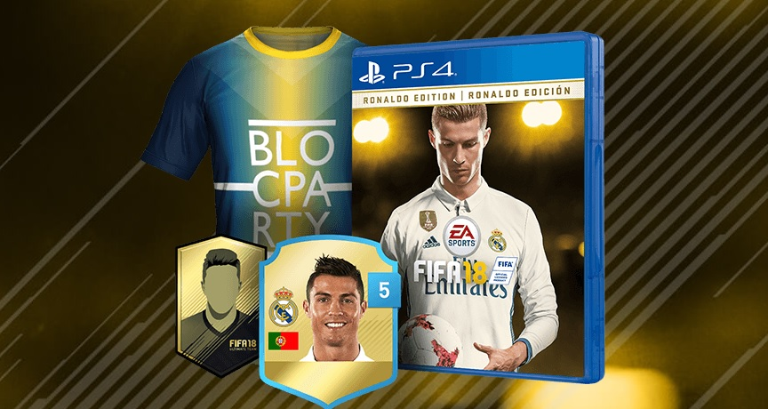 Angebote: FIFA 18 Ronaldo Edition; Die Bundesliga live im Sky-Abo für 19,99€ – Werbung