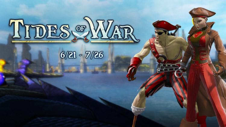 DC Universe Online: Sommer-Event mit Sandburgen & Piratenkostümen