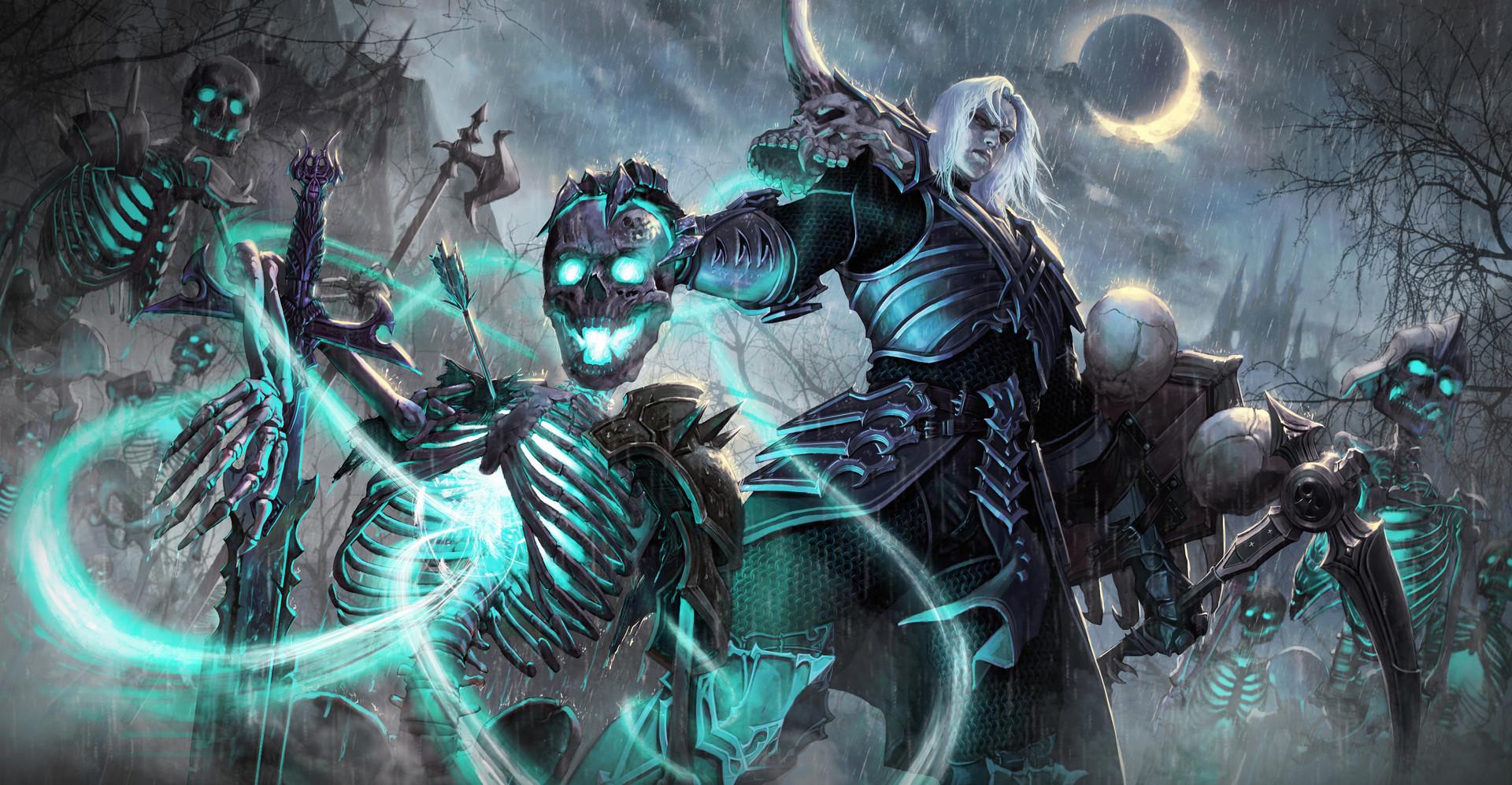 Diablo 3 Hotfix: Rathma Set für Totenbeschwörer wird stärker – Top-Build?