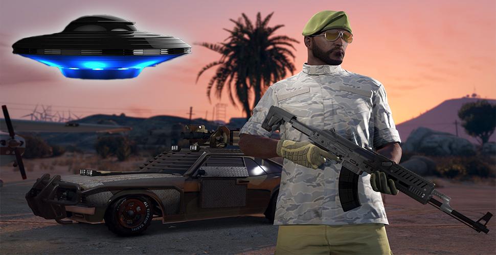 GTA 5: Alien-Action im Weltall – Mod schickt Euch zu den Sternen