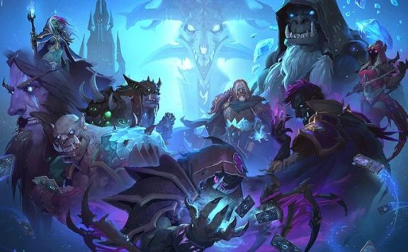 Hearthstone Knights of the Frozen Throne Evil heroes