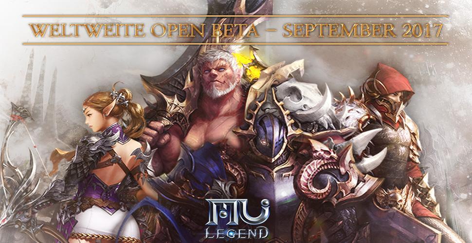 MU Legend: Open Beta – Termin im September 2017