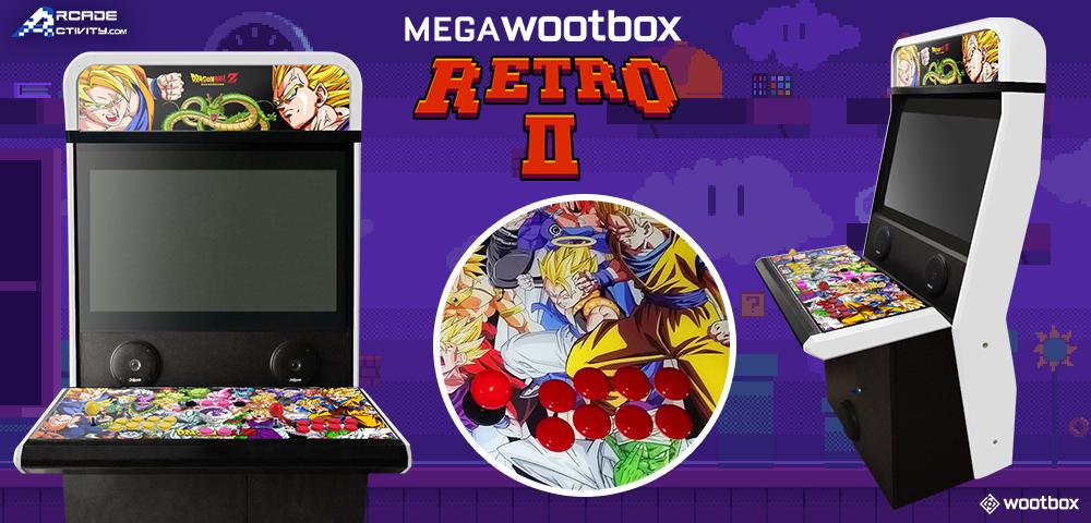 MegaWootbox Retro II: Chance auf Arcade-Spielautomat mit Dragon Ball Z