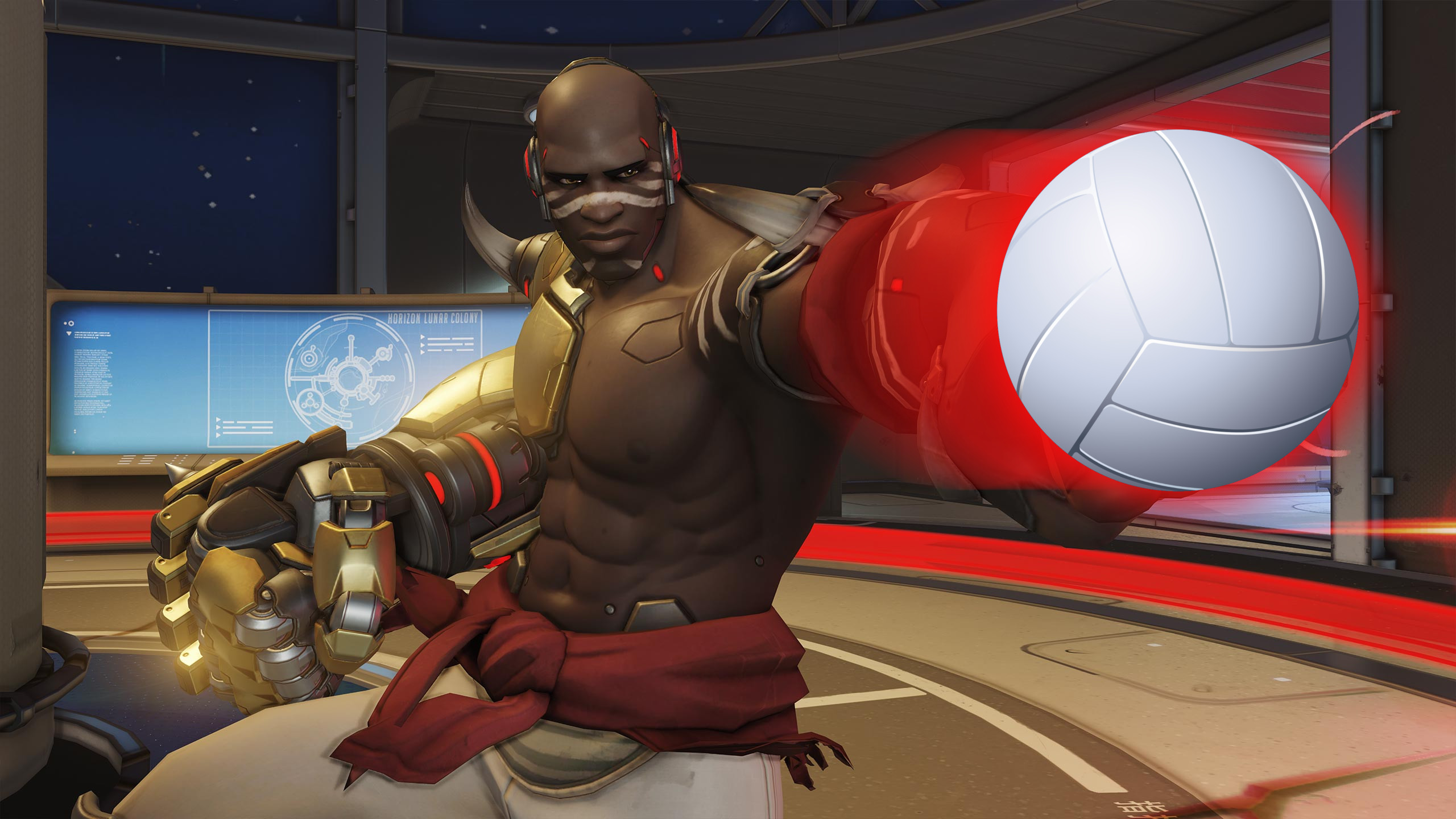 Overwatch: Doomfist-Beach-Volleyball als Event für die Summer Games?
