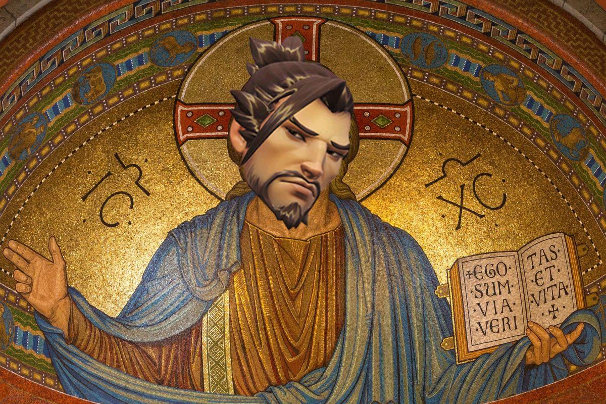 """Overwatch: Heiliger Drache! Spieler gründet die """"Kirche des Hanzo"""""""