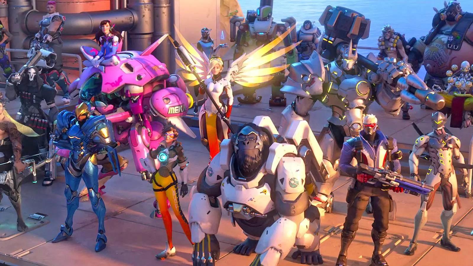 Die meistgespielten Overwatch-Helden – auf jedem der 7 Skill-Tiers