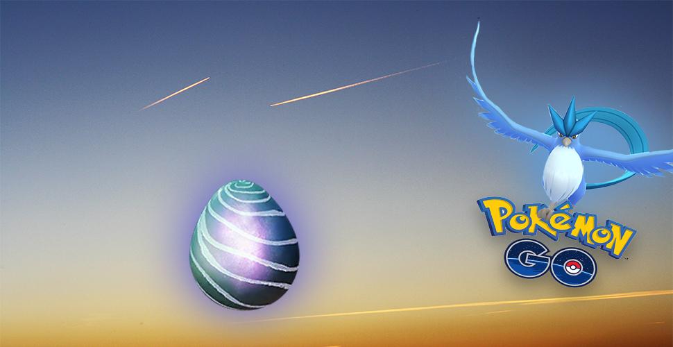 Pokémon GO Arktos Raid Titel