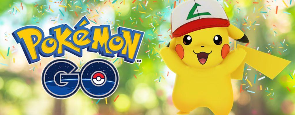 Pokémon GO: Geburtstags-Event startet heute mit besonderem Pikachu