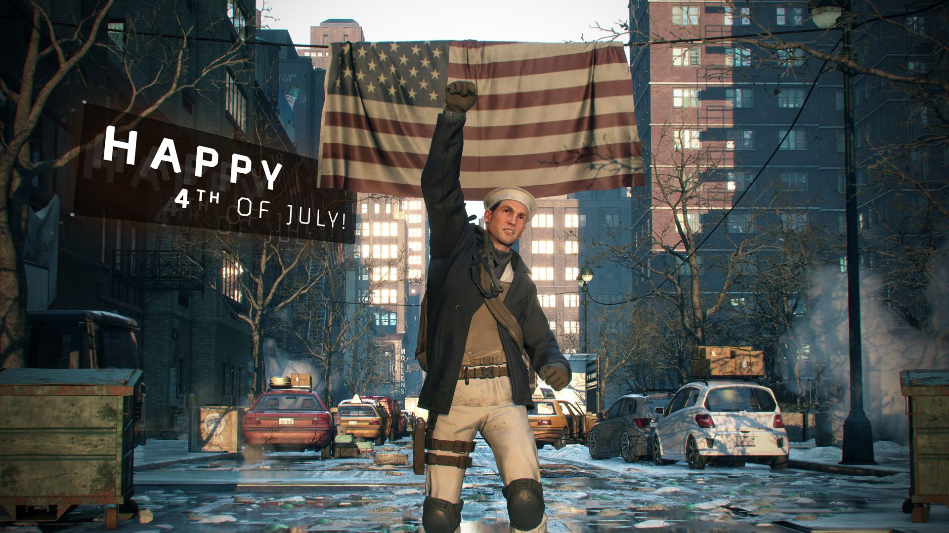 The Division: Independence Day – Doppelte Belohnung & gratis Outfit