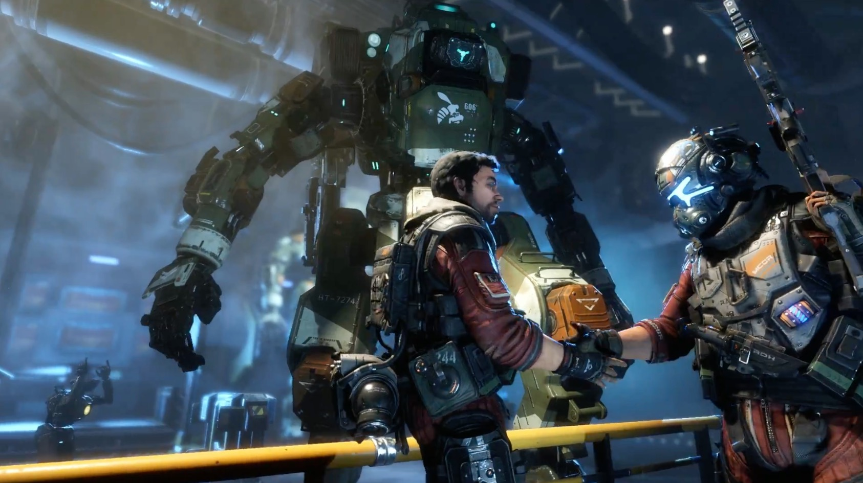 Sieht so aus, als kündigt EA am Montag sowas wie Titanfall Fortnite an