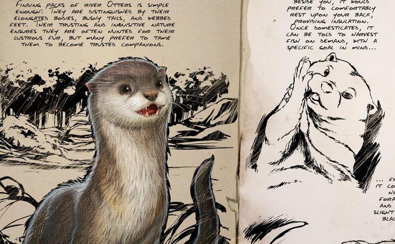 Es wird putzig in ARK Survival Evolved! Der Schmuse-Otter kommt