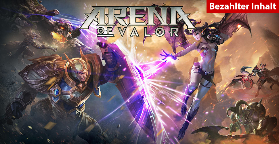 Arena of Valor Anspiel-Test– Ein Mobile-MOBA für zwischendurch?