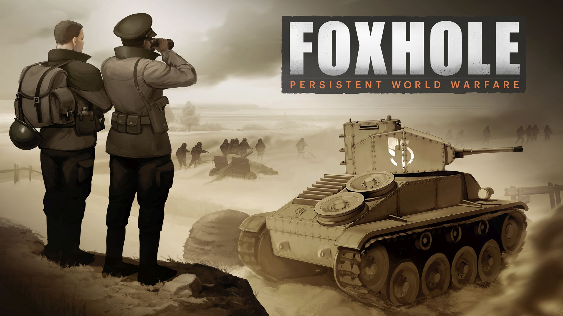 Der MMO-Shooter Foxhole im Anspielbericht – Teamplay ist alles