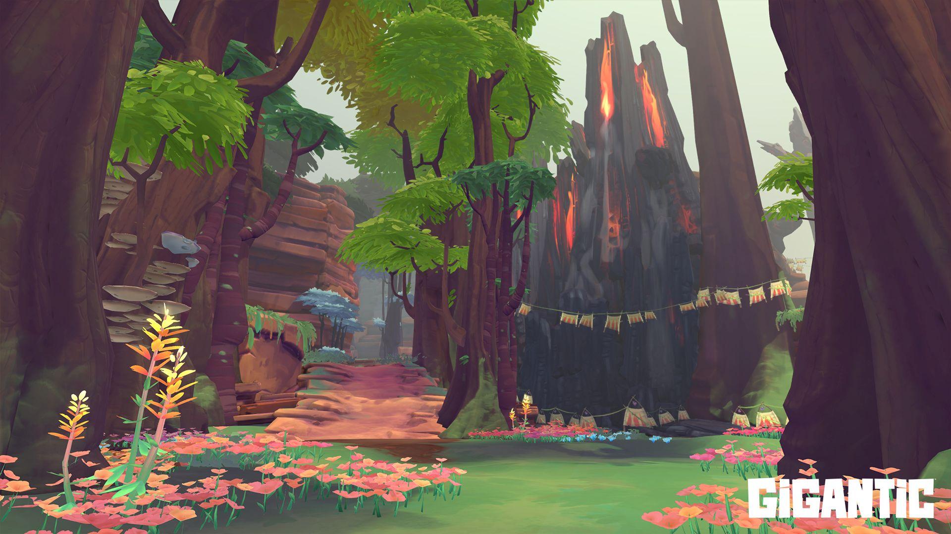 """Gigantic: Neue Map """"Wizard Woods"""" mit mysteriösem neuen Feature"""