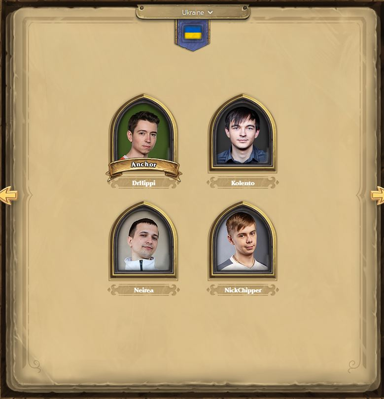 Hearthstone Champion Ukraine