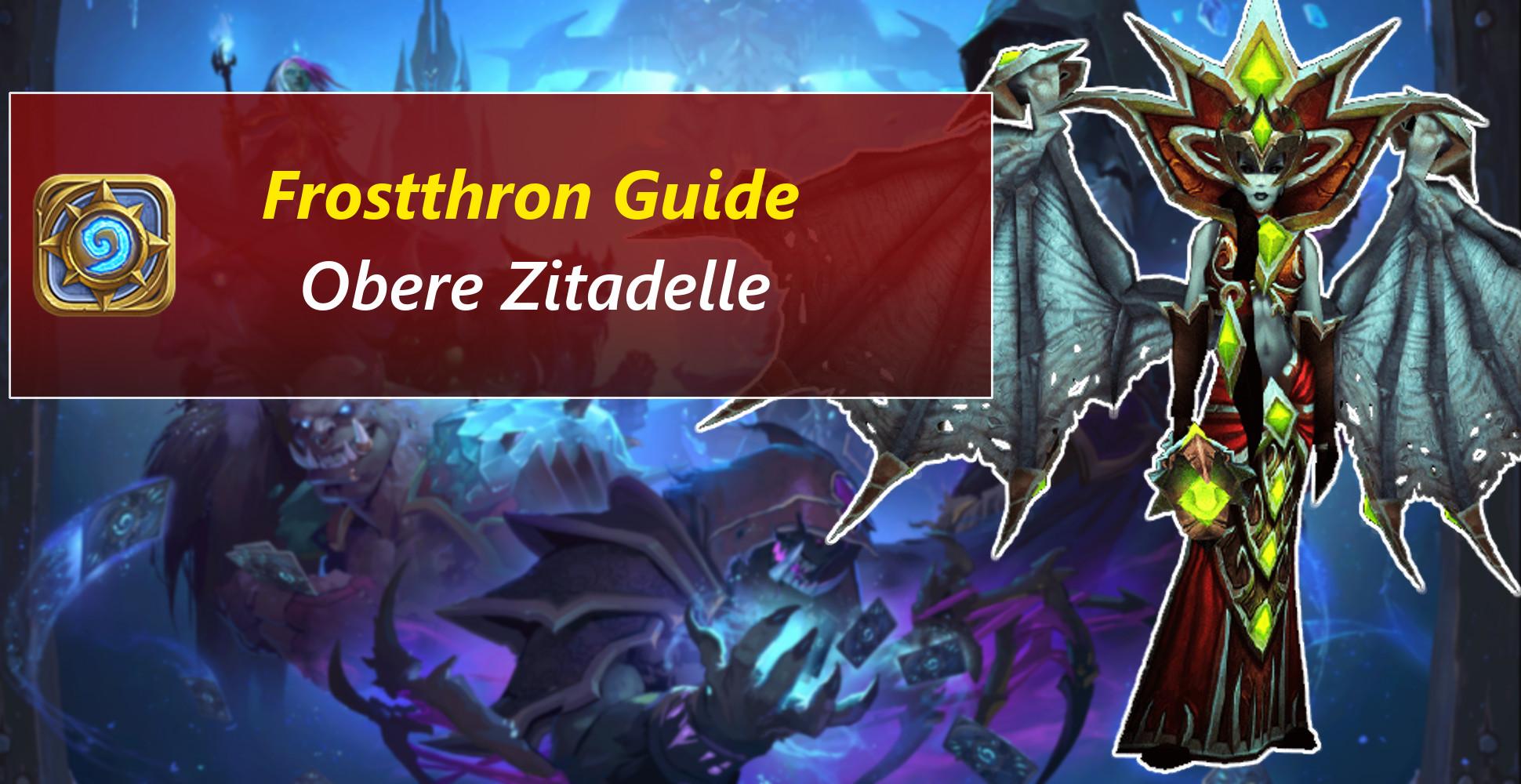 Hearthstone Guide: So besiegt ihr Lana'thel, Seuchenmord, Sindragosa