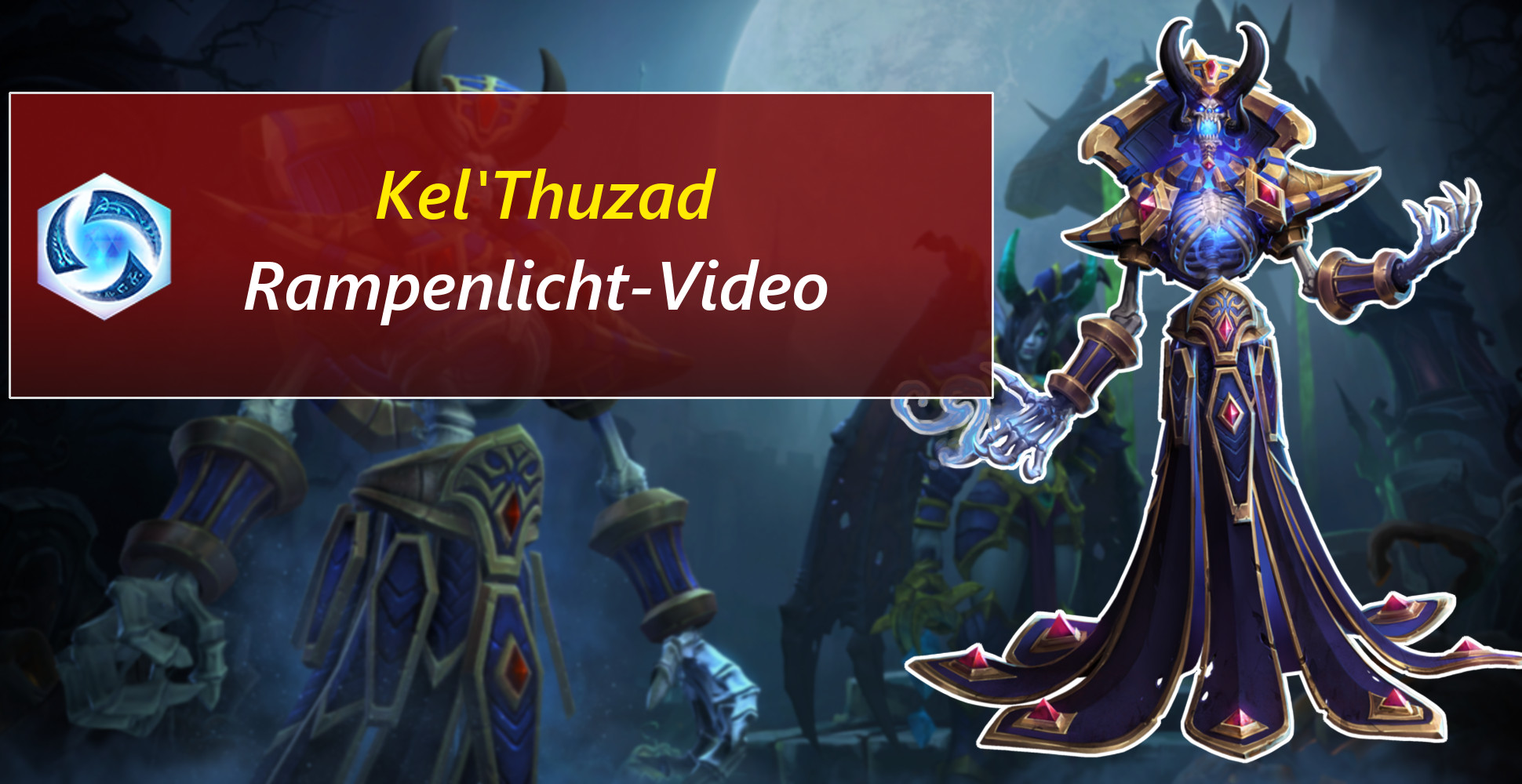 Heroes of the Storm: Tod und Verfall – Kel'Thuzads Fähigkeiten im Video