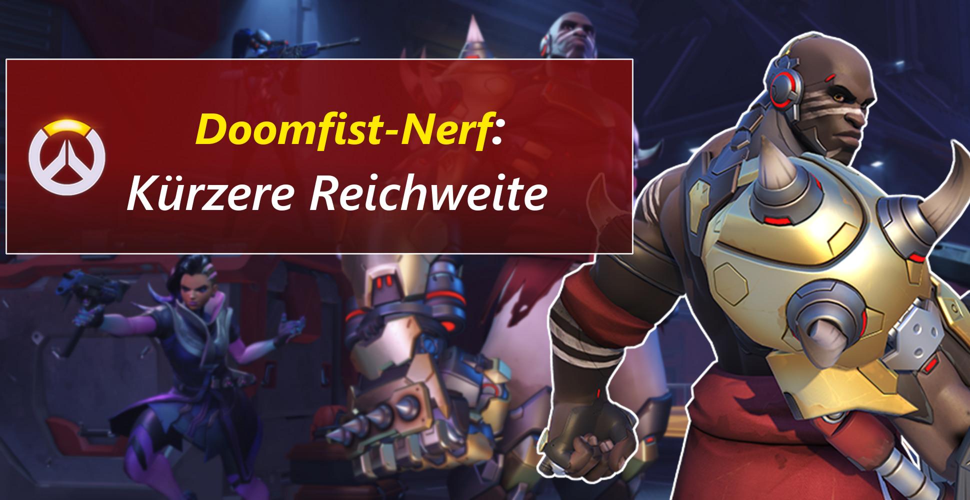 Overwatch: Noch ein Nerf – Doomfist verliert an Flugreichweite
