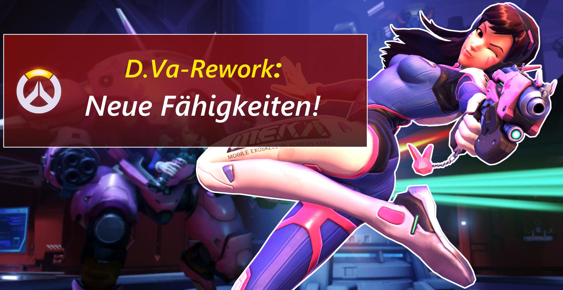 Overwatch: D.Va-Rework! Neue Fähigkeiten und Nerfs