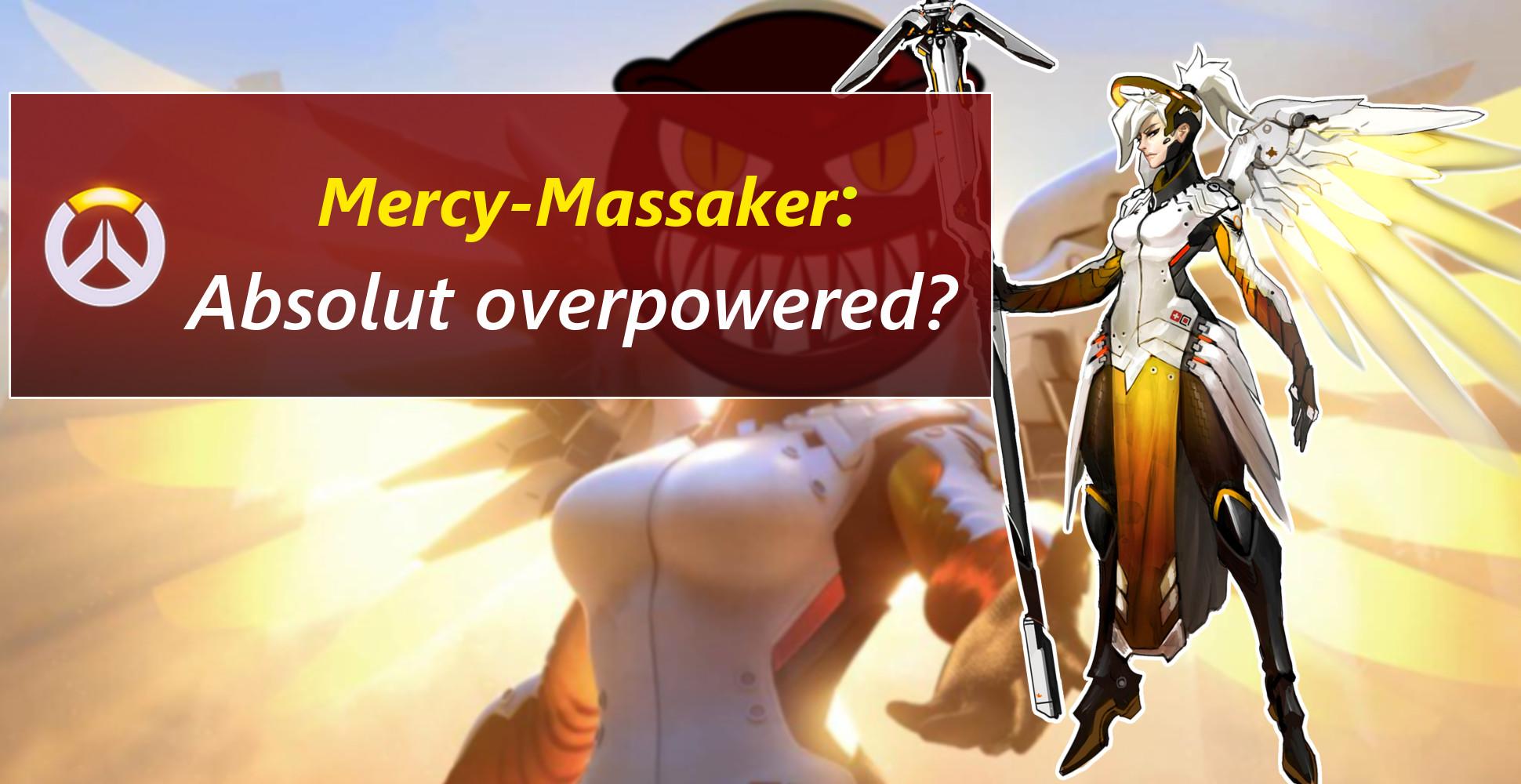 Overwatch: Der Todesengel – Mercy schlachtet sich durch den PTR