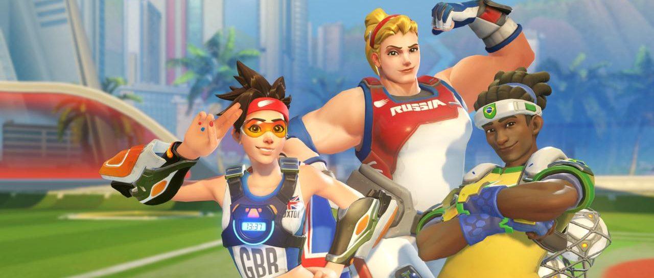 Overwatch Summer Games: Bade-Skin für D.Va und Rugby-Rüstung für Reinhardt